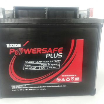 Exide PowerSafe Plus SMF 12V 42Ah Battery