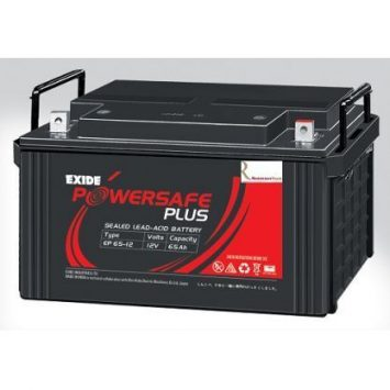 Exide PowerSafe Plus SMF 12V 65Ah Battery