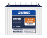 LUMINOUS INVERLAST-ILTT 24060 180Ah TUBULAR BATTERY