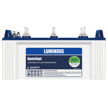LUMINOUS INVERLAST - IL 1830FP 150Ah BATTERY