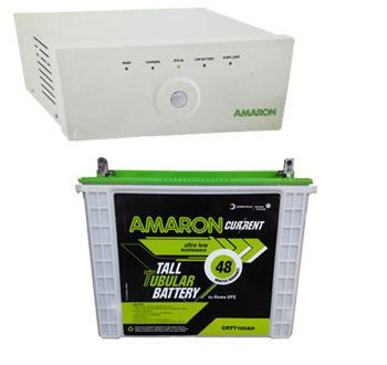 Amaron 880VA Home Inverter + 165AH Battery Combo