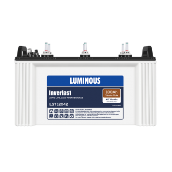 LUMINOUS INVERLAST – ILST 12042 100Ah TUBULAR BATTERY